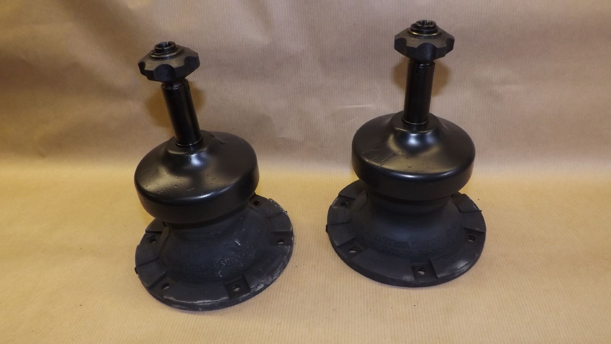 Racal Antenna Base No 31 Mk6 Unfitted And Bagged Pair