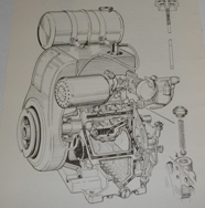BSA. Model A,F,E and G. Power unit. Instruction manual.