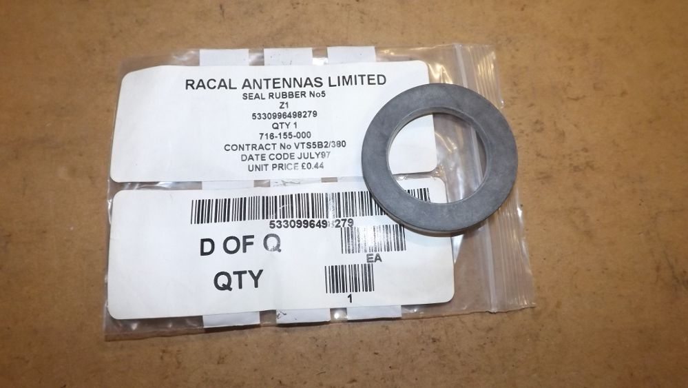 Racal Antennas  No 5 Seal